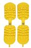 Резиновые накладки  SIDAS  на горнолыжные ботинки Жёлтые!  Traction (one size)